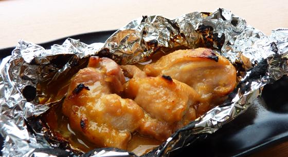 鶏モモホイル焼き