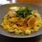 豚肉と葱のお味噌パスタ